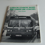 London Country Buses and Green Line Coaches by Mark Chapman 1980 softback @sold@